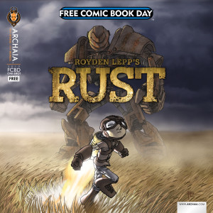Free Comic Book Day sampler of Rust