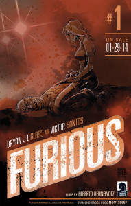 Furious #1 Pin up by Hernandez