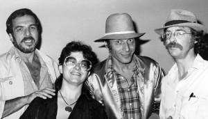 B. Kliban, Melinda Gebbie, Victor Moscoso, and Dan O'Neill