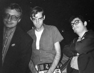 Bob Burden, Daniel Clowes and Jaime Hernandez