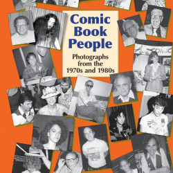 Jackie Estrada on the Comic Book People: Photos from the 70s and 80s Kickstarter campaign