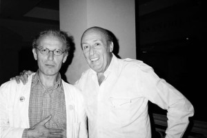 Jean Giraud (Moebius) and Will Eisner, 1989