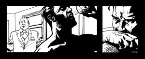 Black and white panel art from issue #21 pg 19
