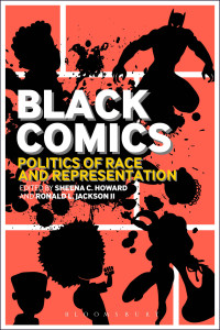 Cover to Black Comics: Politics of Race and Representation. Cover art by John Jennings