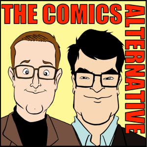 The Comics Alternative podcast (logo)
