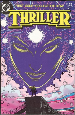 Unmistakeable Trevor von Eeden cover composition of Thriller #1