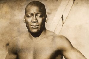 Trevor's true inspiration is world heavy-weight boxer, Jack Johnson